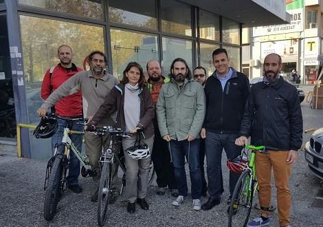 Κηφισιά στο Φάληρο με ποδήλατο