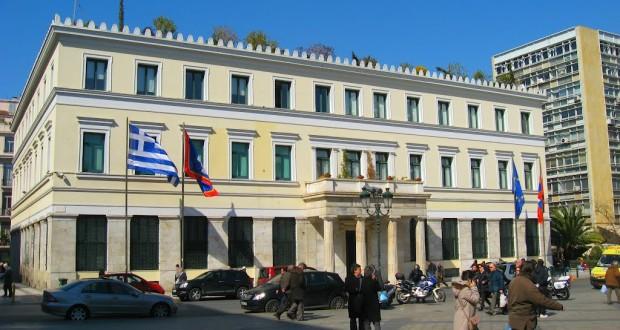 Στο Δημαρχείο της Αθήνας ο Ιρλανδός Πρόεδρος Μάικλ Χίγκινς