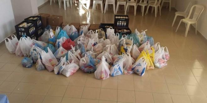 Τρόφιμα σε 350 οικογένειες