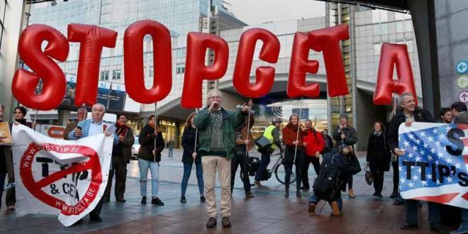 Ημέρα Δράσης κατά της CETA