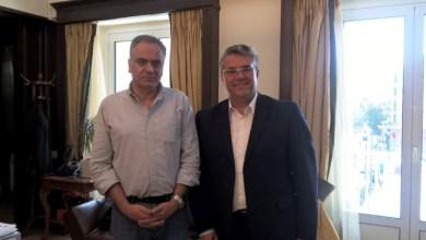 Υπουργού Εσωτερικών με τον Δήμαρχο Δράμας