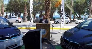 Πρωτοπόρα η δημοτική αρχή του Βαγγέλη Μπουρνούς στην Ραφήνα – Εγκαινίασε τον πρώτο σταθμό φόρτισης ηλεκτρικών οχημάτων στην Ανατολική Αττική
