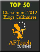 top 50 blog culinaires
