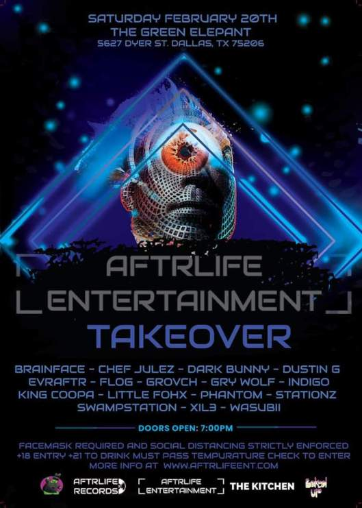 AFTRLIFE Takeover