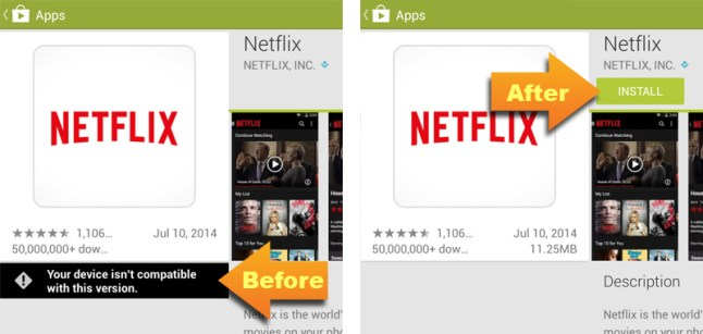 How to trick Google Play Store into allowing All Apps | AFTVnews