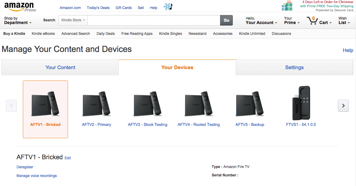 How to change the device name of your Amazon Fire TV or Fire TV