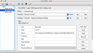 echo-mp3-id3-tag-list