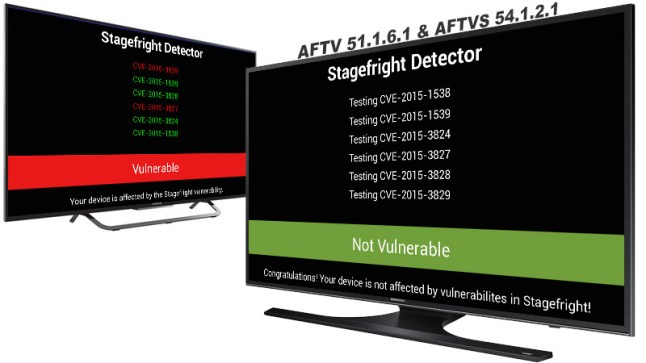 Amazon patched Stagefright Vulnerability in Fire TV devices