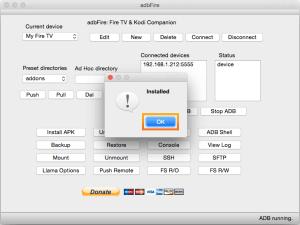 adbfire-mac-installed