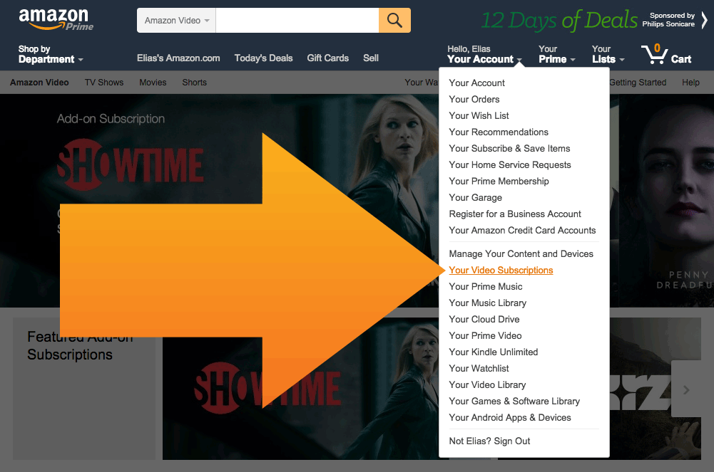 How to Cancel an Amazon Prime Video Channel Subscription