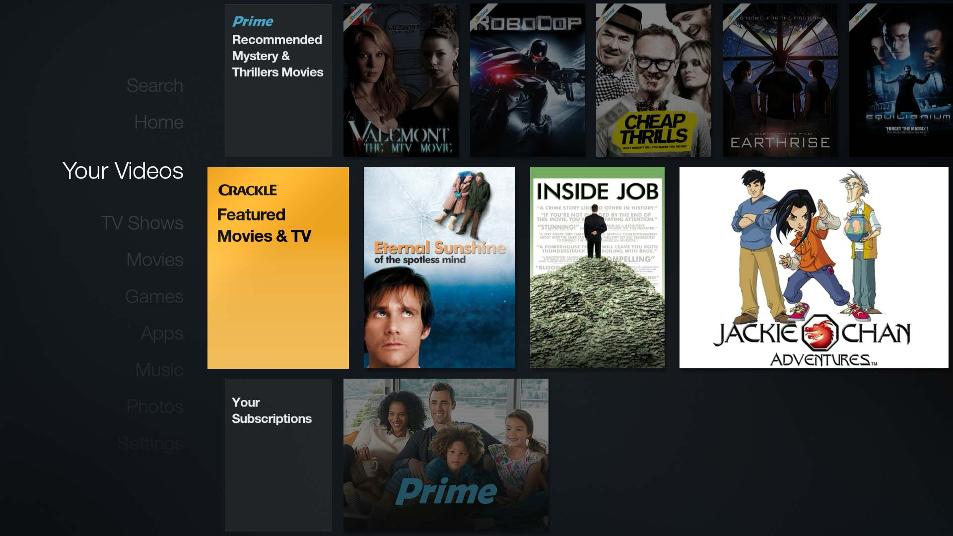 New 'Your Videos' section on Fire TV combines Prime Video