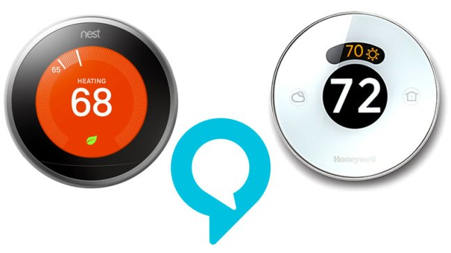 alexa-nest-honeywell-thermostat