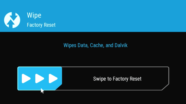 How to Factory Reset a rooted Fire TV using TWRP custom