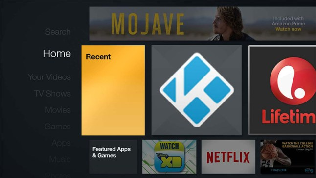 Software update 5 0 5 1 brings sideloaded apps to the Fire TV Home