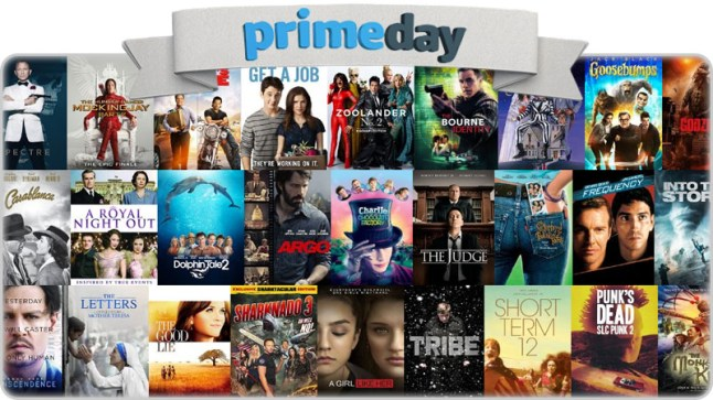 Prime Day Deal Live 99 Cent Movie Rental