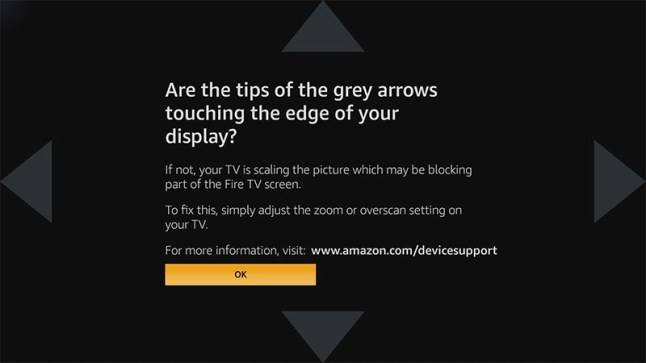 Amazon Fire TV Stick 2 removes the option to adjust display size