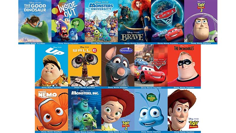 movies All pixar