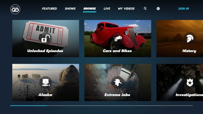 Amazon Fire Tv Gets New Discovery Science Channel I D