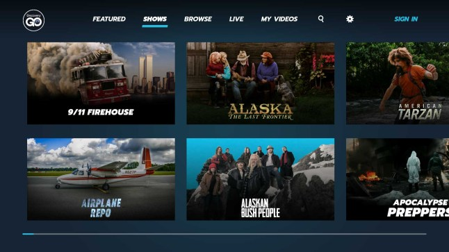 Amazon Fire TV gets new Discovery, Science Channel, I D
