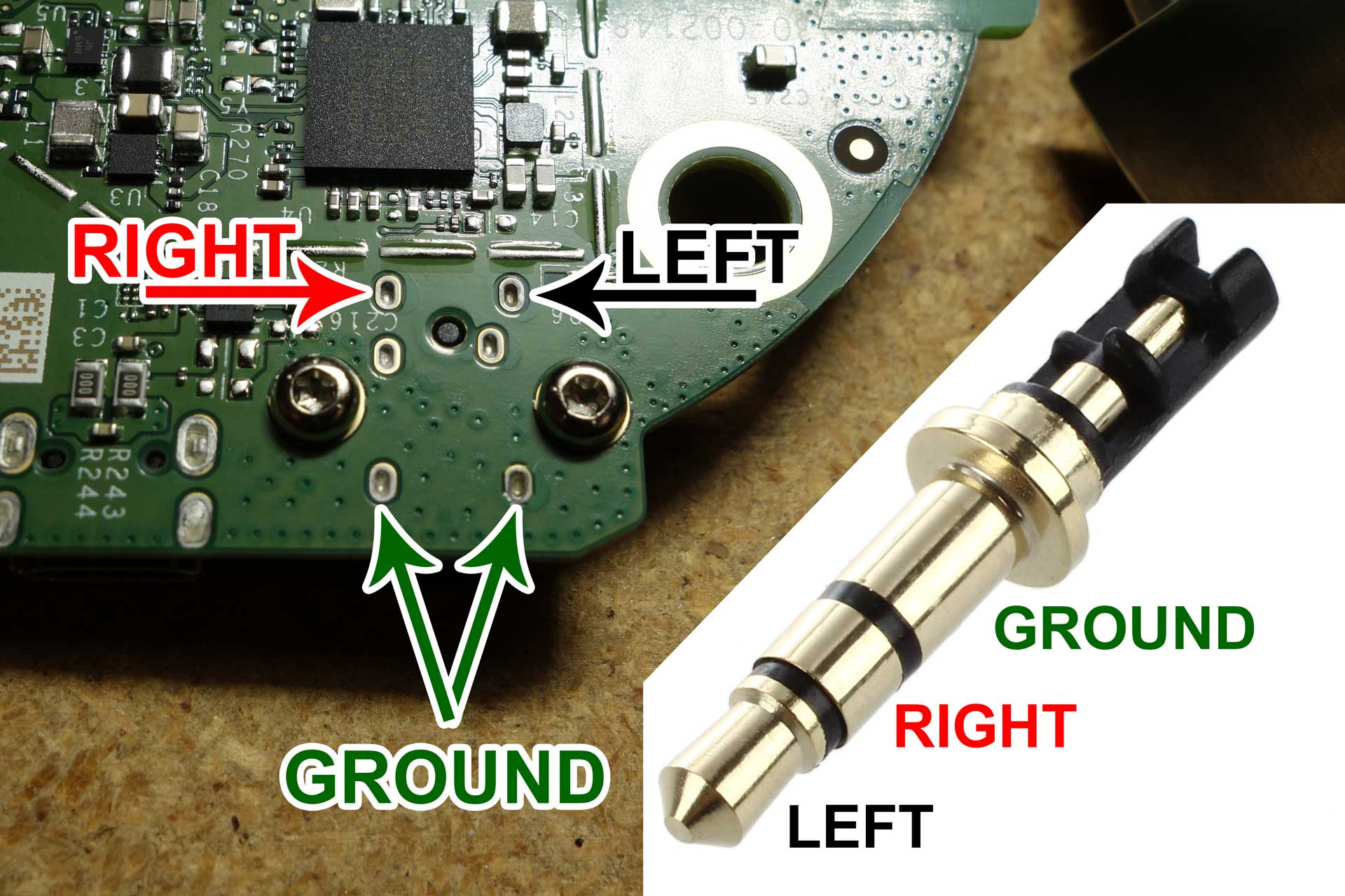 How To Modify An Amazon Echo Dot Play Audio Through Both Internal Maybe Thats Not A Bt Telephone Socket Wiring Be Careful Damage The Thermal Pad Or Get It Dirty When Reassembling Sure Firmly Press These Two Pieces Together Before Placing Them Back On