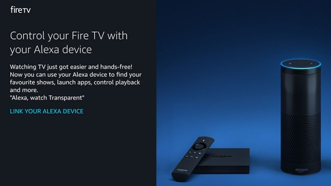 How linking Alexa devices to the Amazon Fire TV, Fire TV