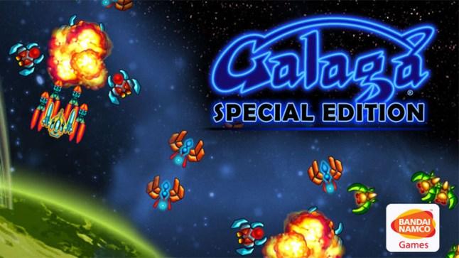 Bandai Namco brings Galaga Special Edition game to the