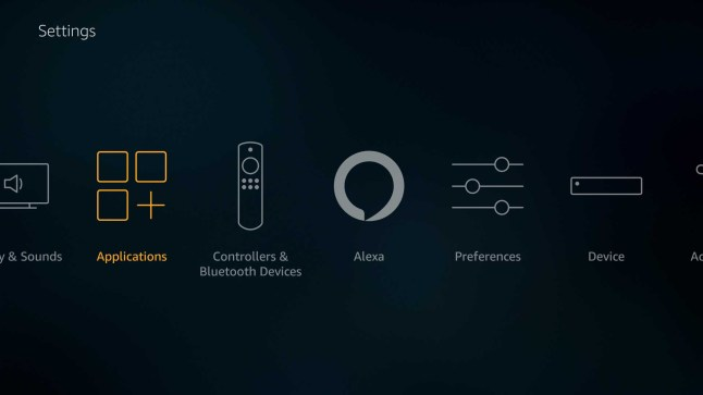 How to fix an empty or buggy Apps row on the Fire TV home