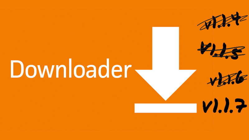 Downloader v1 1 7 is now live with more bug fixes for Fire TV 3 and
