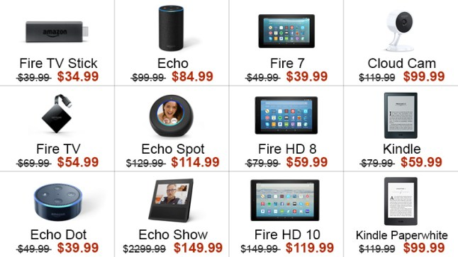 Amazon has nearly all devices on sale today — Fire TVs, Echos