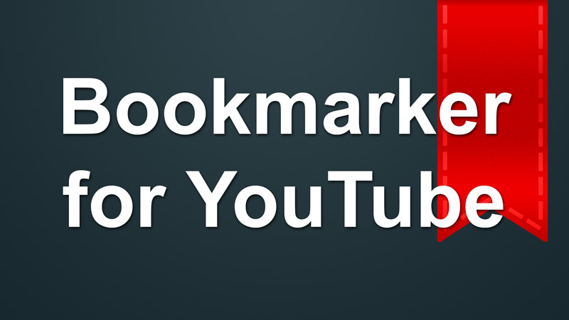 Bookmarker for YouTube app is now available in the Amazon Fire TV