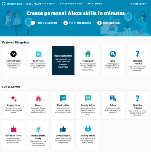 Anyone can now easily customize alexas responses using amazons new the beauty of the custom qa alexa blueprint which will likely be the one most people use is that it doesnt require a clumsy way of launching your malvernweather Choice Image