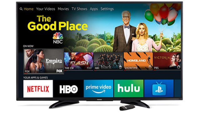 Toshiba Fire TV Edition television software update lets you power on