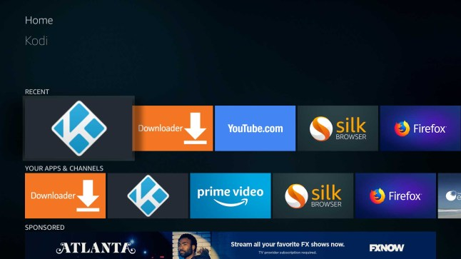 How to fix grayed out disabled apps on the Amazon Fire TV or