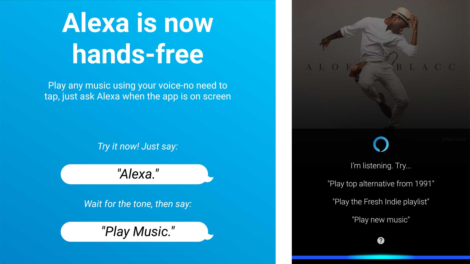 Alexa is now hands-free in the Amazon Music app on Android