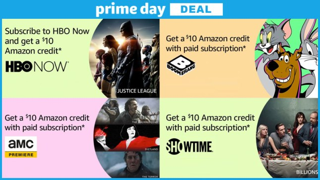 Get $10 Amazon Credit when you subscribe to HBO Now