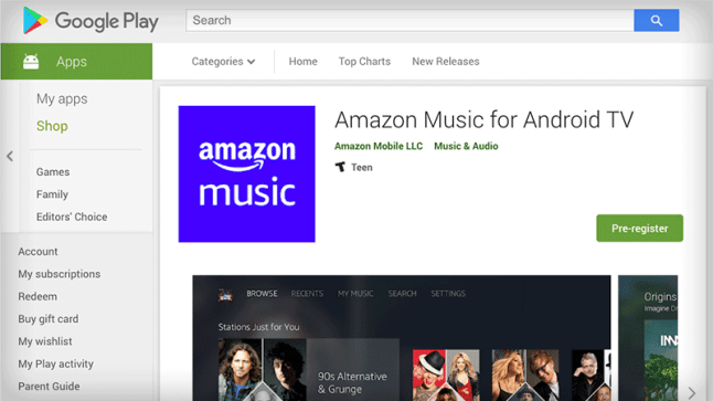 how to buy music on android amazon