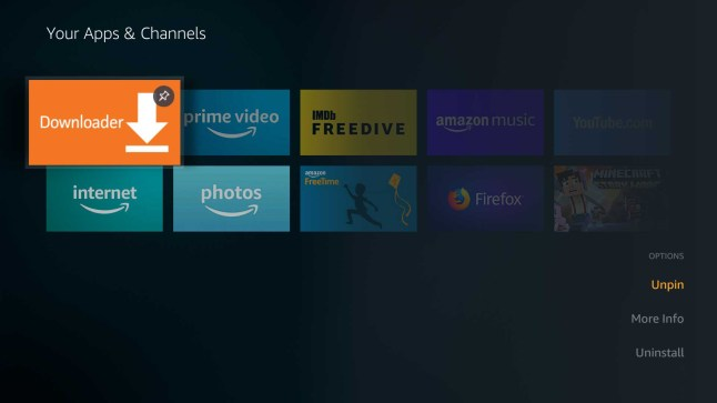 New Fire TV software update changes the way you arrange Apps and