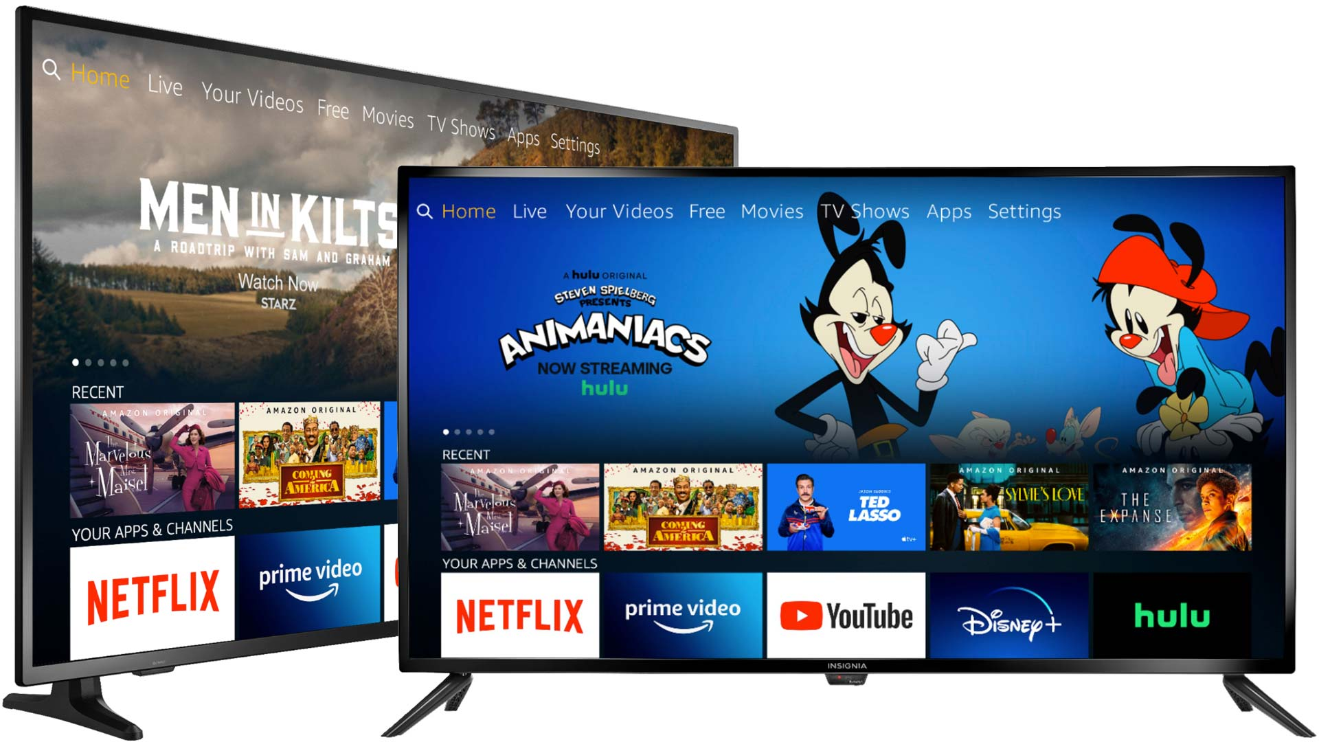 Insignia releases new 2021 Fire TV Edition televisions with larger screens & increased resolution for non-4K models