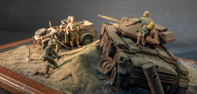 El Alamein - the inspection 1/35 Diorama