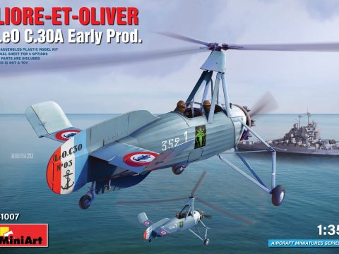 LIORE-ET-OLIVER LeO C.30A Early Prod - MINIART 41007