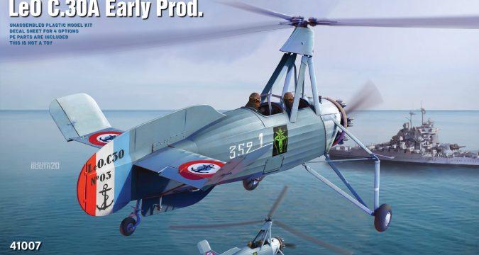 LIORE-ET-OLIVER LeO C.30A Early Prod - MINIART 41007
