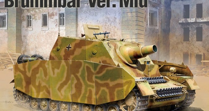 Brummbar Mid Strumpanzer IV - Academy 13525