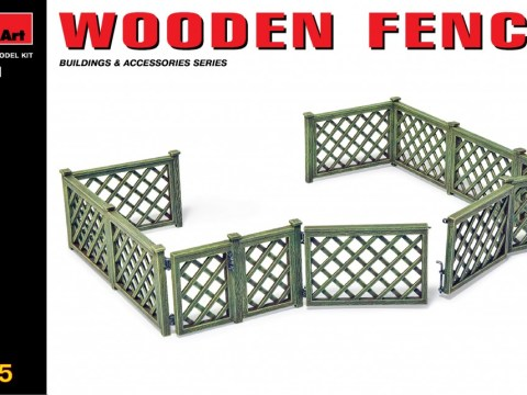 MiniArt 35551 - WOODEN FENCE