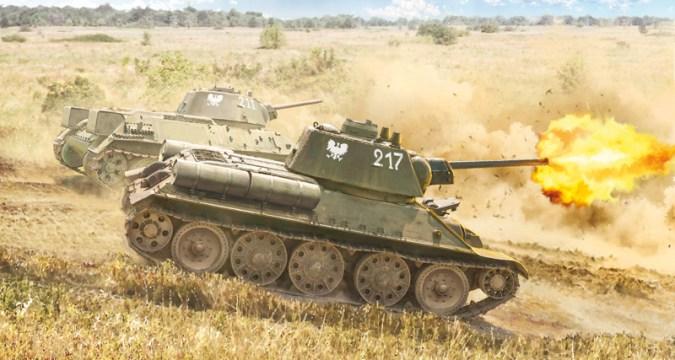 T-34 76 Model 1943 - ITALERI 7078