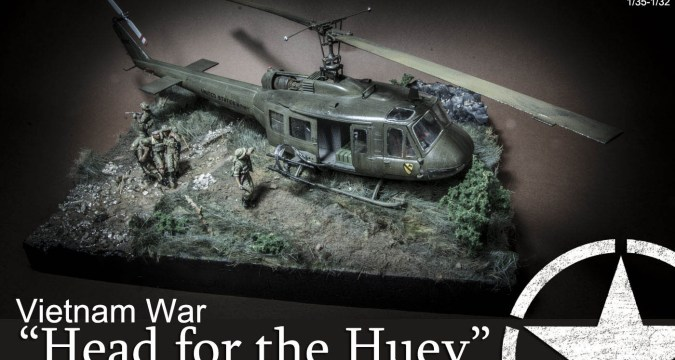 Head to the huey Vietnam