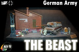 E100 German Tank - The Beast