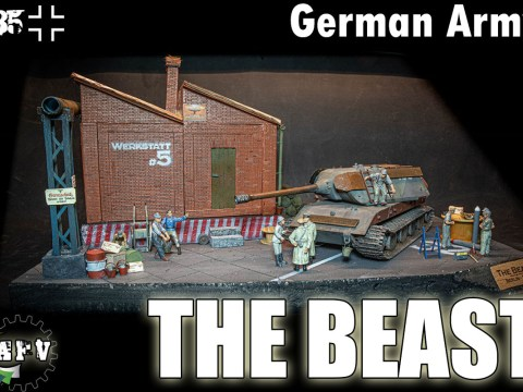 E100 German Tank - The Beast