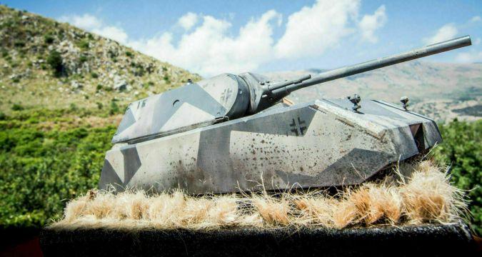 Maus 1/35 Tank - Vignette