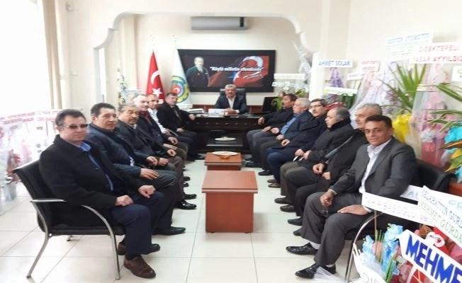 MHP ' den Dinar ve Dazkırı ziyareti