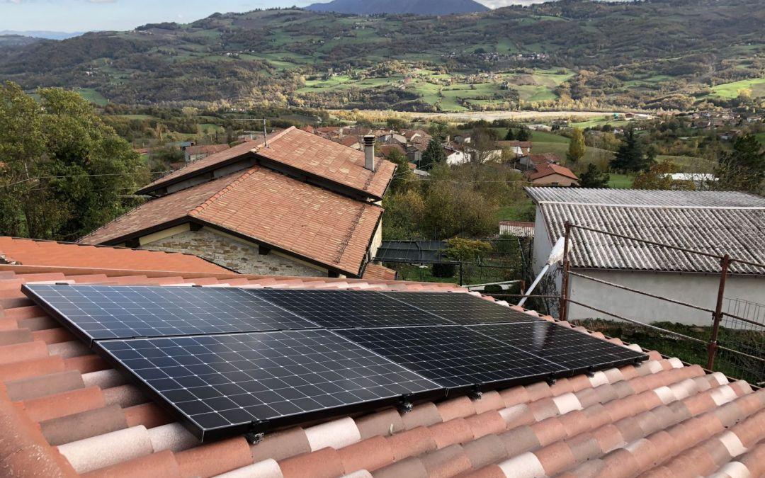 Impianto fotovoltaico da 2,16 kWp realizzato a Langhirano